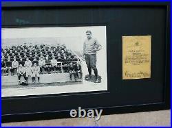 1927 Knute Rockne Autograph Notre Dame ND Football Four Horsemen PSA COA Photo