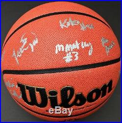 2018 NOTRE DAME TEAM SIGNED WOMENS AUTHENTIC FINAL FOUR BASKETBALL withCOA ARIKE