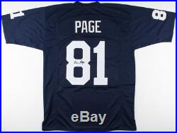 Alan Page Signed Notre Dame Fighting Irish Jersey (JSA COA) Purple People Eater