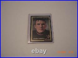 Angelo Bertelli Notre Dame Fighting Irish, Heisman Jsa/coa/stamp Signed Card