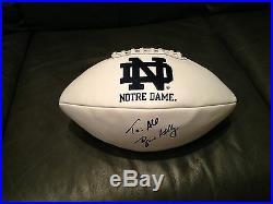 Brian Kelly Signed Autographed Football Notre Dame Irish Amazing Coa Wow! 1