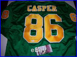 Dave Casper Notre Dame Fighting Irish, Raiders, Hof Jsa/coa Signed Jersey