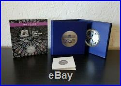 France 10 euro silver Proof coin 2013 Unesco Notre Dame de Paris #115 Box +COA