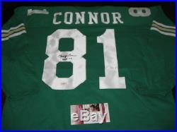 George Connor Bears, Notre Dame Jsa/coa Signed Jersey