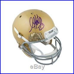 Golden Tate Autographed Notre Dame Full-Size Football Helmet BAS COA