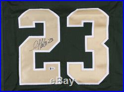 Golden Tate Signed Notre Dame Fighting Irish Jersey (Beckett COA) Wide Receiver