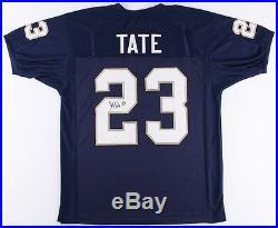 Golden Tate Signed Notre Dame Fighting Irish Jersey (JSA COA) Pro Bowl Receiver