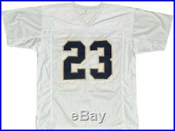 Golden Tate autographed signed jersey NCAA Notre Dame JSA COA