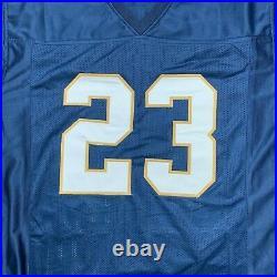 Golden Tate autographed signed jersey NCAA Notre Dame JSA COA NY Giants