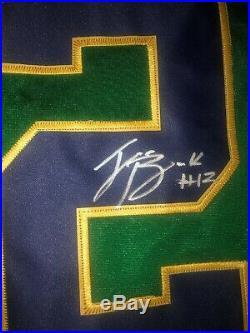 Ian Book Notre Dame Fighting Irish Signed Autograph Jersey Coa
