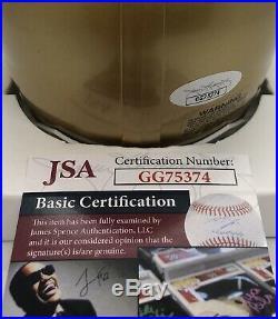 Ian Book Signed Autographed Notre Dame Play Like A Champ Mini Helmet Jsa Coa