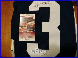JOE MONTANA AUTOGRAPHED SIGNED NOTRE DAME CUSTOM JERSEY WithJSA COA! Size XL