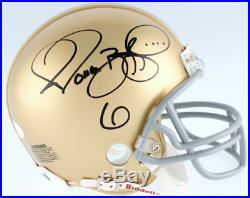 Jerome Bettis Autographed Signed Notre Dame Fighting Irish Mini Helmet JSA COA