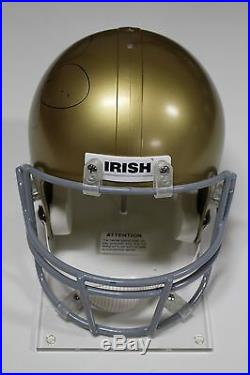 Jerome Bettis Signed University Of Notre Dame Full Size Helmet Psa/dna Auth Coa