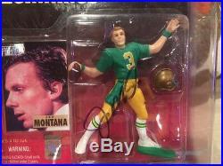 Joe Montana Authentic Signed Notre Dame Beginnings Starting Line-up Jsa Coa
