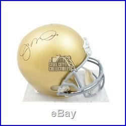 Joe Montana Autographed Notre Dame Full-Size Football Helmet JSA COA