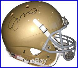 Joe Montana Notre Dame Autographed Signed Full Size Gold Helmet COA & Holo