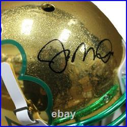 Joe Montana Notre Dame Fighting Irish Autographed F/S Authentic Helmet COA