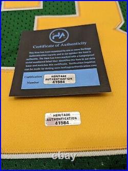 Joe Montana Notre Dame Fighting Irish Autographed Signed Jersey XL COA