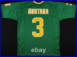 Joe Montana Signed Notre Dame Fighting Irish Jersey (JSA COA) 4xSuper Bowl Champ