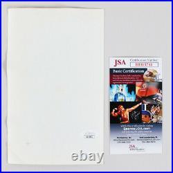 Joe Montana Signed Photo with 2 Others Notre Dame COA JSA