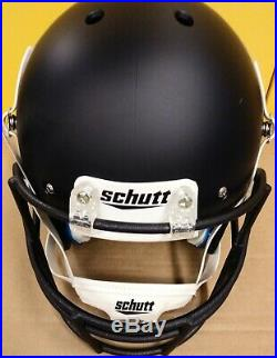 Joe Montana autographed in gold Notre Dame full size helmet Beckett CoA