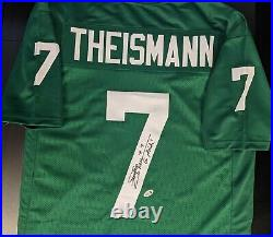 Joe Theismann Signed Notre Dame Fighting Irish Autographed Jersey w Beckett COA