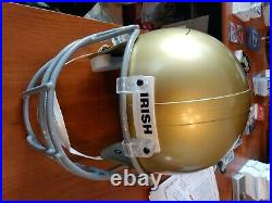 Joe Theismann full size autographed helmet notre dame coa $$$