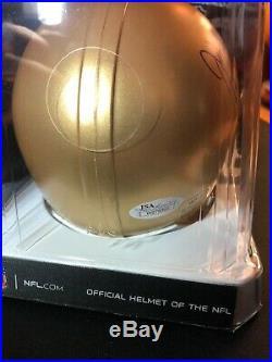 John Huarte Notre Dame Signed Mini Helmet 64 HEISMAN inscription JSA COA Irish