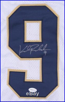 Kyle Rudolph Signed Notre Dame Fighting Irish Jersey (TSE COA) Viking Tight End