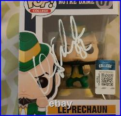 Kyle Rudolph signed Notre Dame Pop! Toy #07 Funko Beckett BAS COA #U73706