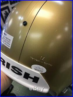 Lou Holtz Signed Auto Autograph Full Size Helmet Notre Dame JSA COA