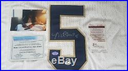Manti Teo Autograped Notre Dame Custom White Jersey! JSA Witnessed COA