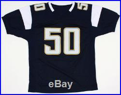 Manti Teo Signed San Diego Chargers Jersey (JSA COA)Former Notre Dame Linebacker