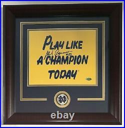 Mark Bavaro Signed Notre Dame Play Like A Champion 8x10 Photo Auto Steiner COA