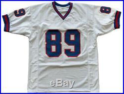 Mark Bavaro signed jersey NFL New York Giants PSA COA Notre Dame