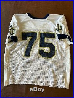 Mid 1990s Notre Dame Champion Game Worn Jersey with COA