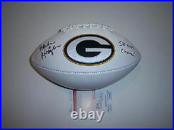 Mike Holmgren Green Bay Packers Sbxxxi Champs Jsa/coa Signed Football