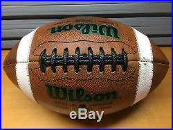 NOTRE DAME / ALABAMA 2012 National Championship Game Game Used Football with COA
