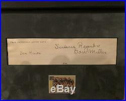 NOTRE DAME Four Horsemen Individual Autographs In Binder with COA