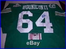 Nick Buoniconti Notre Dame Fighting Irish, Patriots, Hof Jsa/coa Signed Jersey