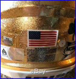 Notre Dame Football 2011 Champs Sports Bowl Game Used Speed Helmet COA STEINER
