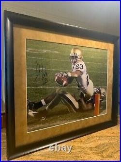 Notre Dame Football Golden Tate Signed and Framed Stenier COA
