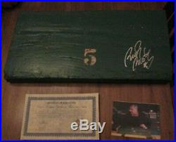 Notre Dame Football Stadium Bench Signed By Rudy Ruettiger With Coa