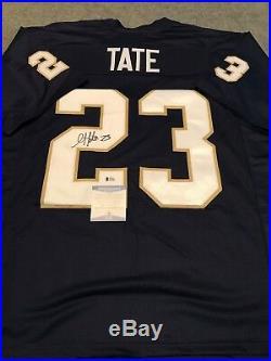 Notre Dame Golden Tate Autographed Signed Jersey Beckett Coa