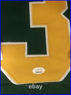 Notre Dame Joe Montana Signed and Autographed Jersey Collage Throwback JSA COA