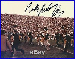 Notre Dame RUDY RUETTIGER Signed Autographed FRAMED Football Photo COA! PROOF