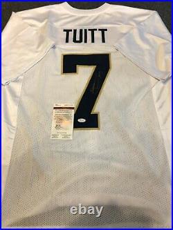 Notre Dame Stephon Tuitt Autographed Signed Jersey Jsa Coa