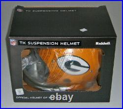 PACKERS Paul Hornung signed TK F/S helmet with HOF 86 JSA COA AUTO Autographed