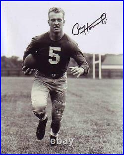 PAUL HORNUNG Signed NOTRE DAME Photo with Hologram COA